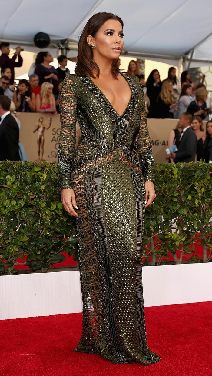 Eva Longoria intr-o rochie extrem de sexy
