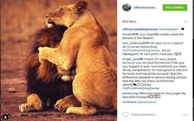 Ghenea a postat o fotografie pe Instagram.