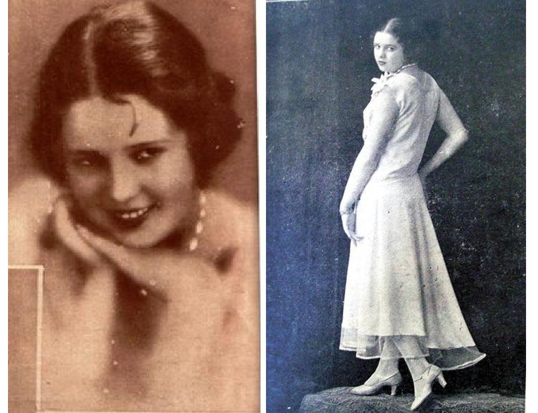 Mariana Mirica a castigat in 1930 finala Miss Europe