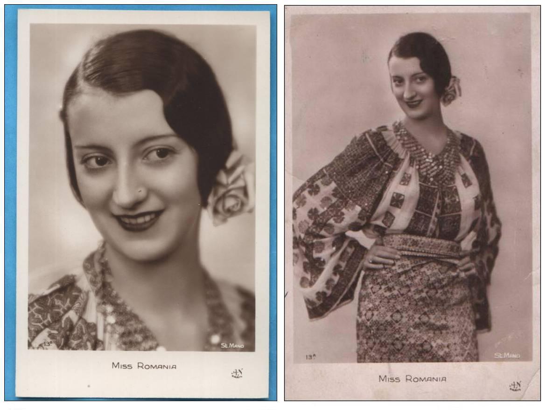 Tanti Vuroseanu a castigat premiul de Miss Romania in 1931