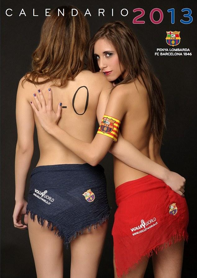 Calendarul Barcelonei 2013