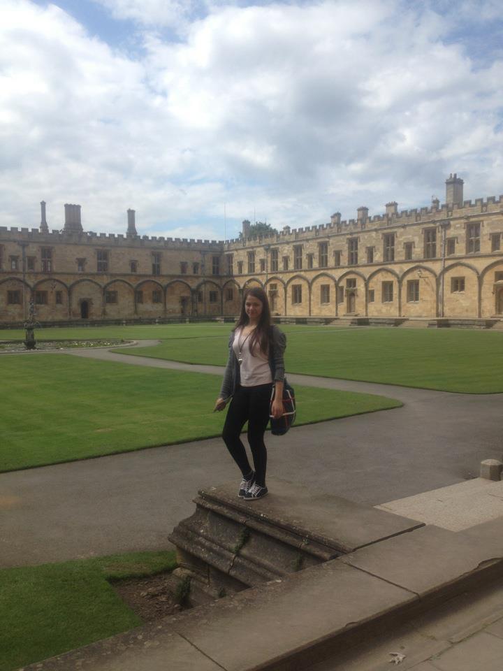 Diana Pop studiaza la cel mai tare Colegiu din Oxford