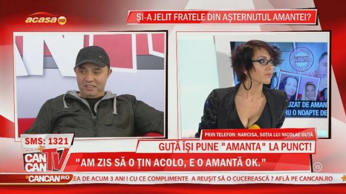 Nicolae Guta si amanta lui, Dana