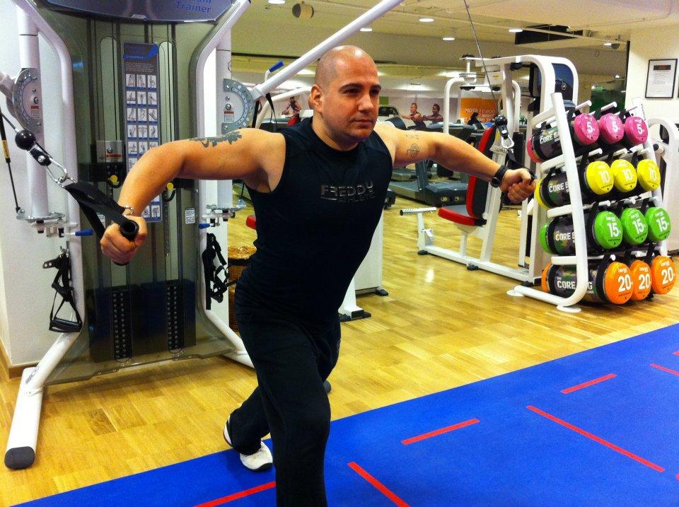 Raul Toma, antrenorul de fitness al Andreei. Sursa: Facebook.com