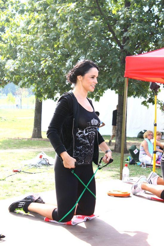 Vara trecuta, Andreea s-a alaturat unui grup de prietene pentru a sustine miscarea in aer liber
