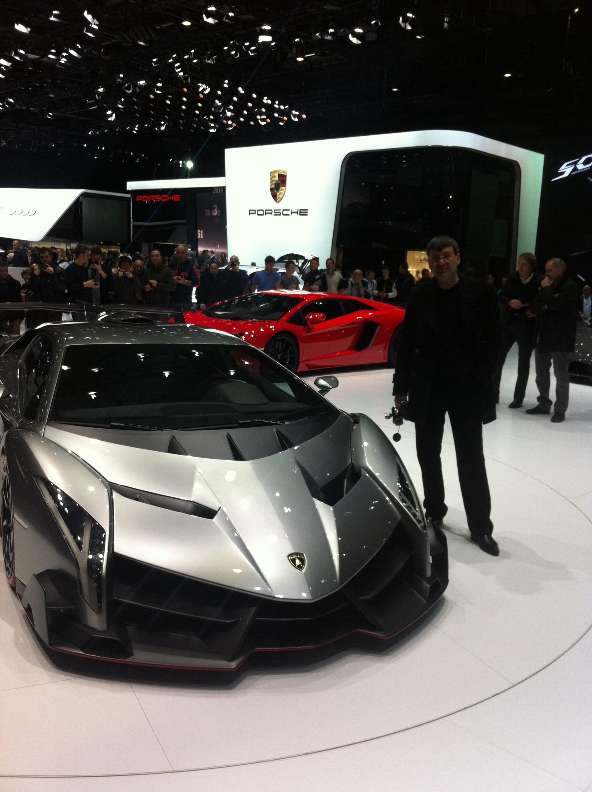 Dan Nicorescu a admirat cele mai noi modele de masini de la Targul Auto de la Geneva