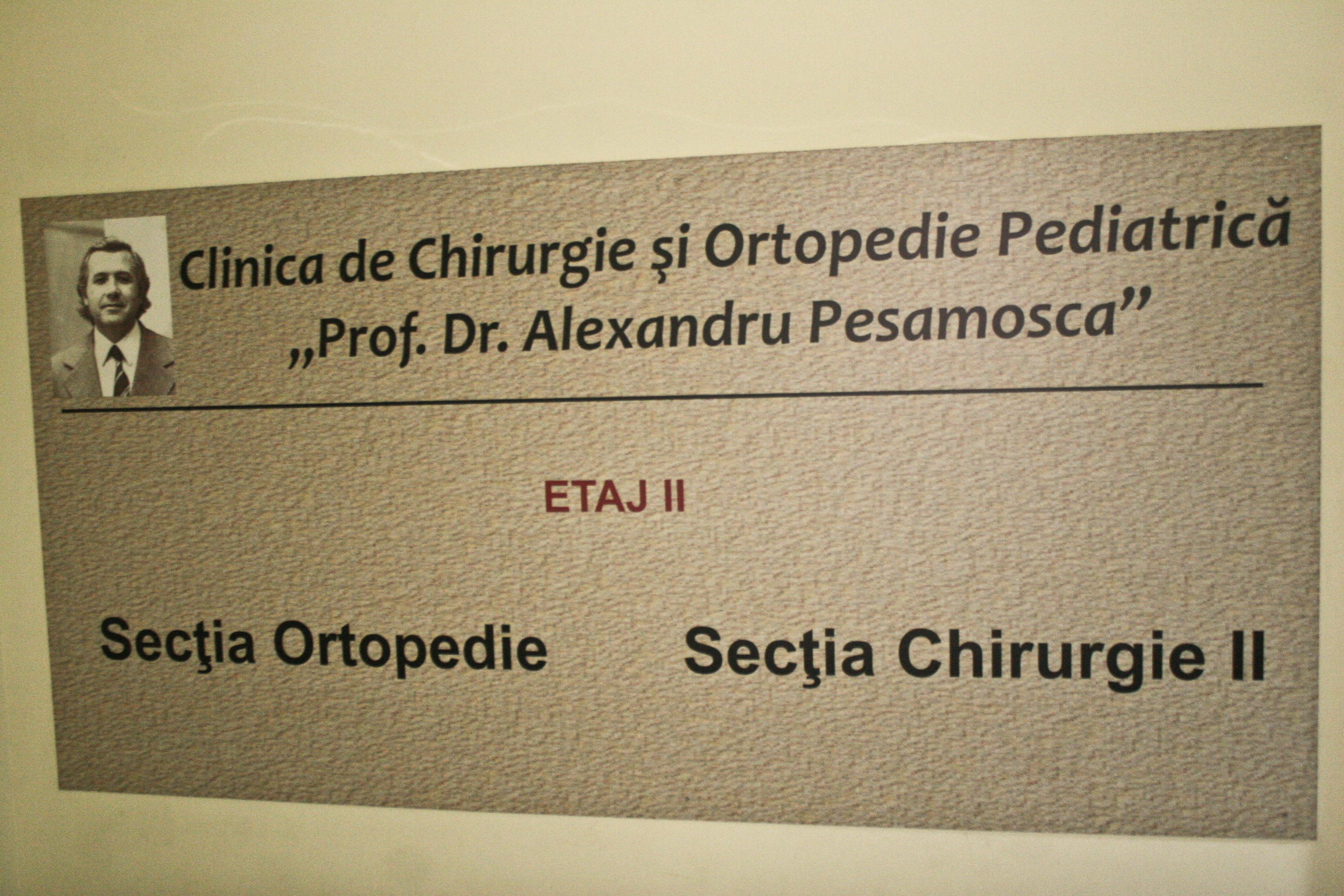 Clinica de chirurgie din spitalul Budimex ii poarta numele doctorului
