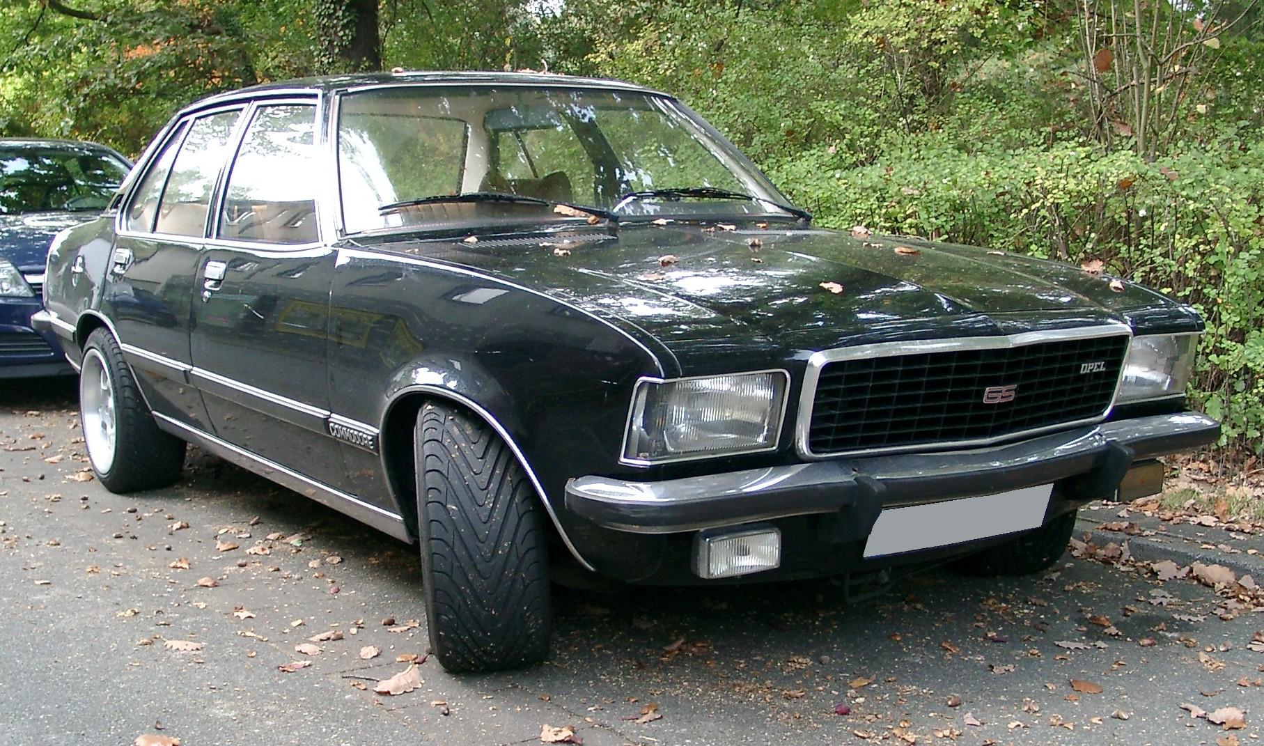 A doua maisni achizitionata de omul de afaceri a fost un Opel Commodore (sursa foto - commons.wikimedia.org)