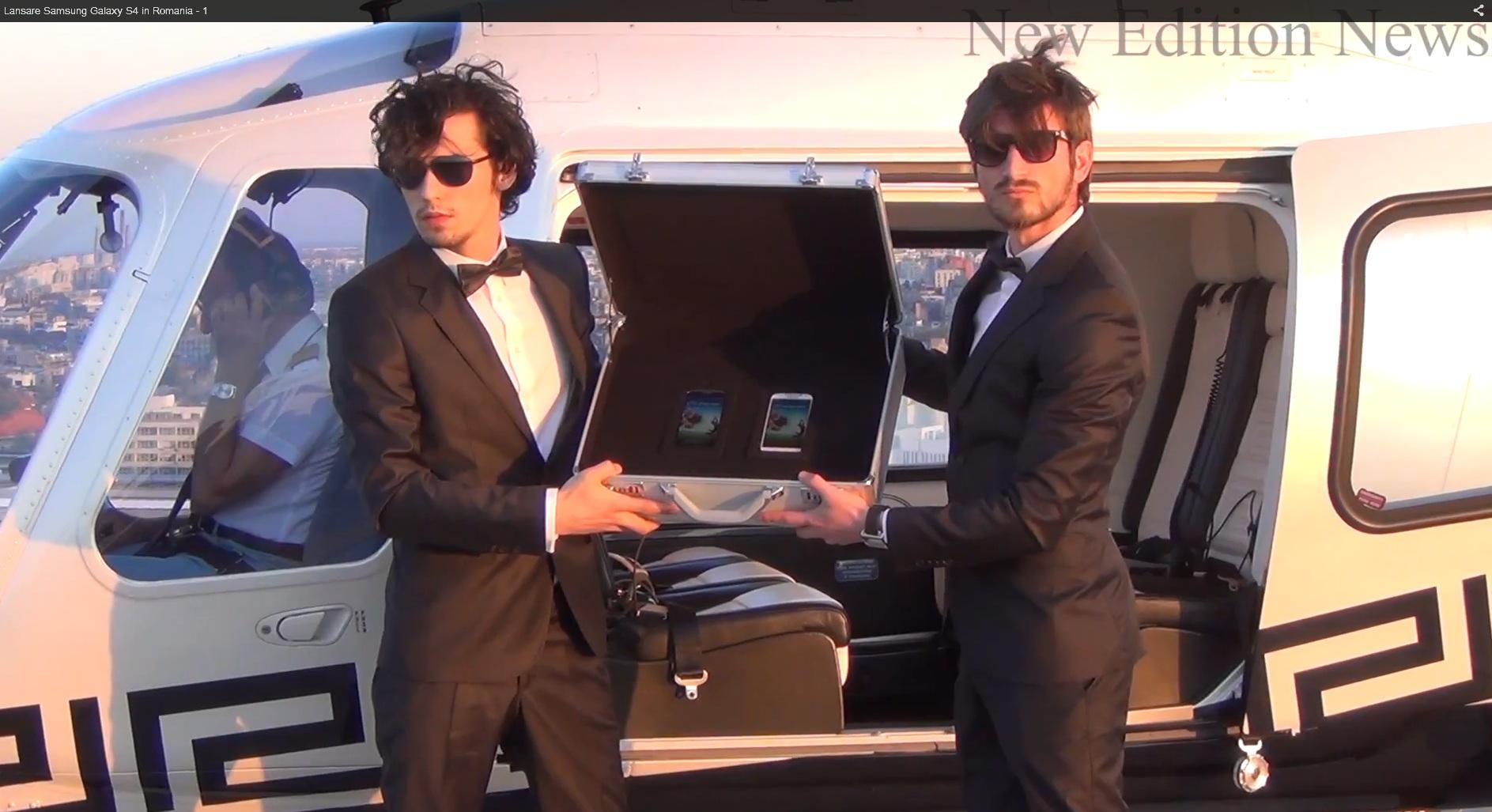 "Doi ""agenti secreti"" au pazit valiza care ascundea telefonul"
