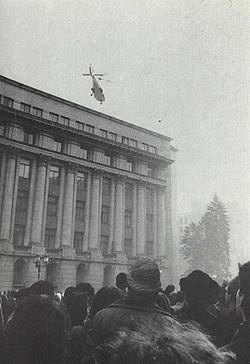 Fuga sotilor Ceausescu pe 22 decembrie 1989