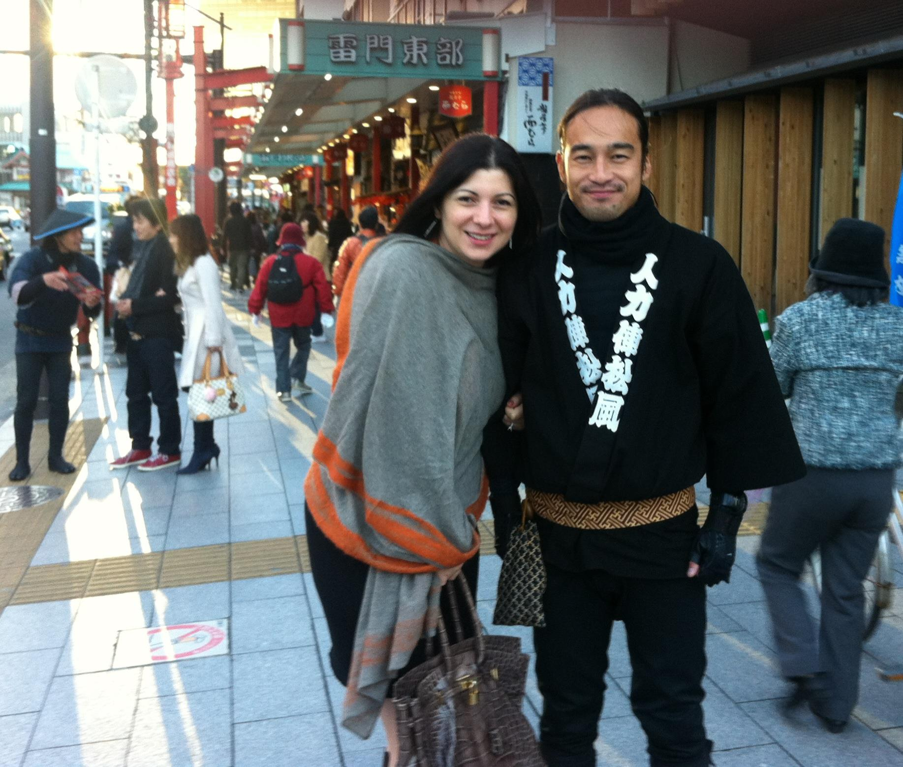 Femeia de afaceri a plecat in Japonia la scurt timp dupa terminarea facultatii