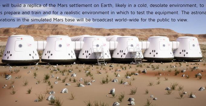Peste 78.000 de persoane vor sa plece pe Marte