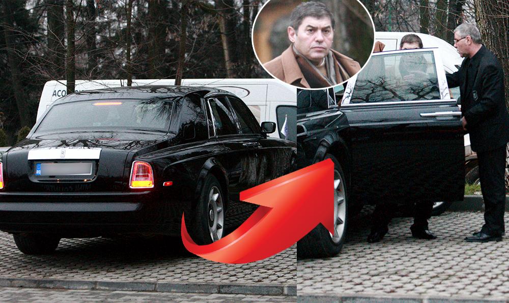 Mihail Vlasov e proprietarul unui Rolls Royce si umbla prin oras doar cu sofer, ca orice milionar care se respecta