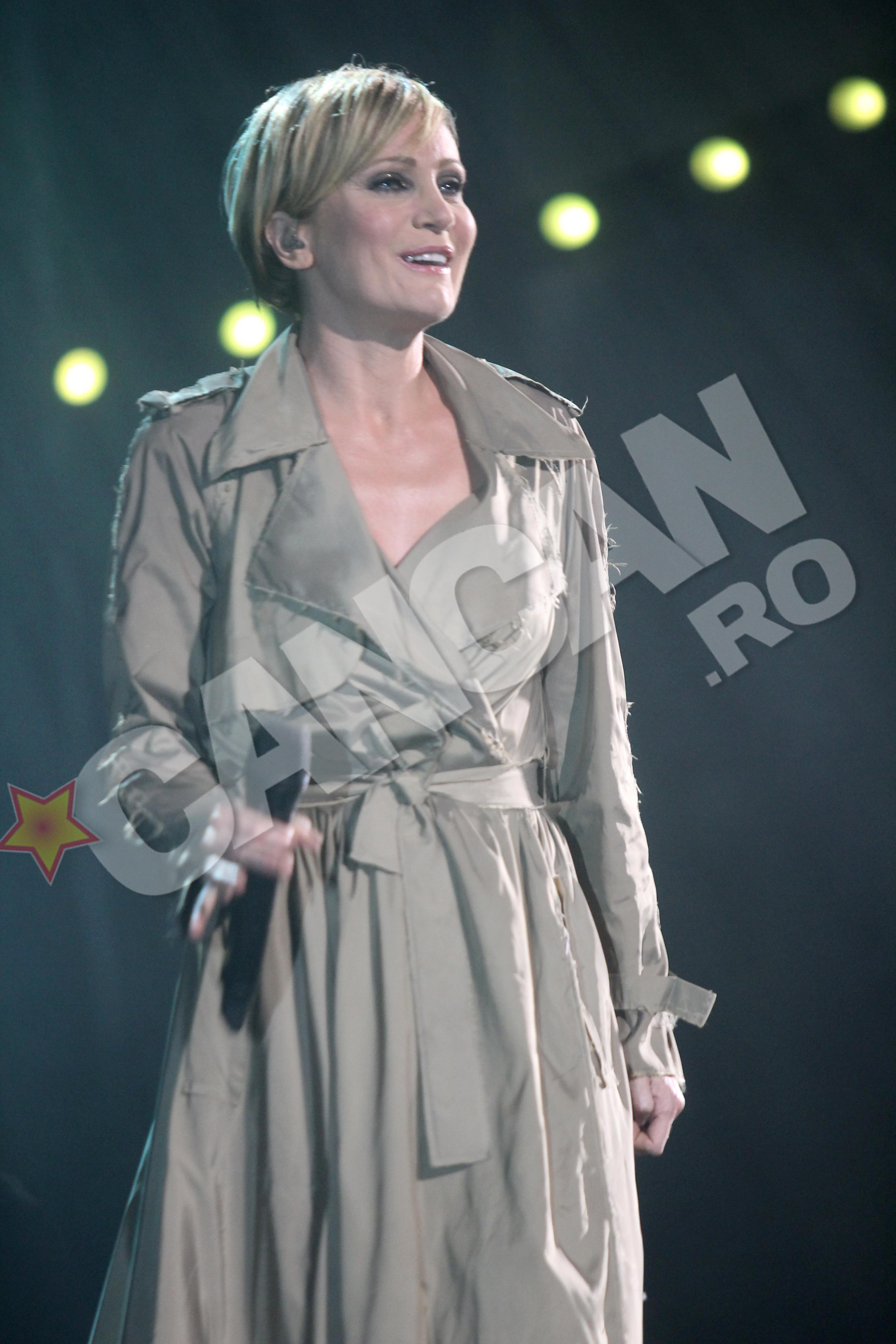 In concertul sustinut duminica la Sala Palatului din bucuresti, chipul Patriciei radia de fericire