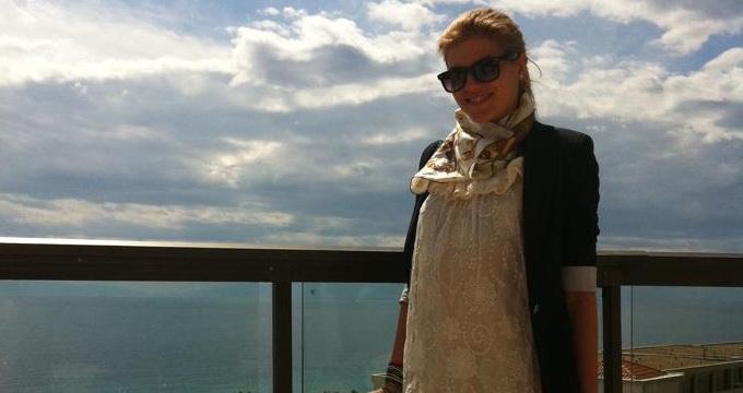 Teodora lucreaza cu Marius Moga la o piesa noua(foto:facebook.com)