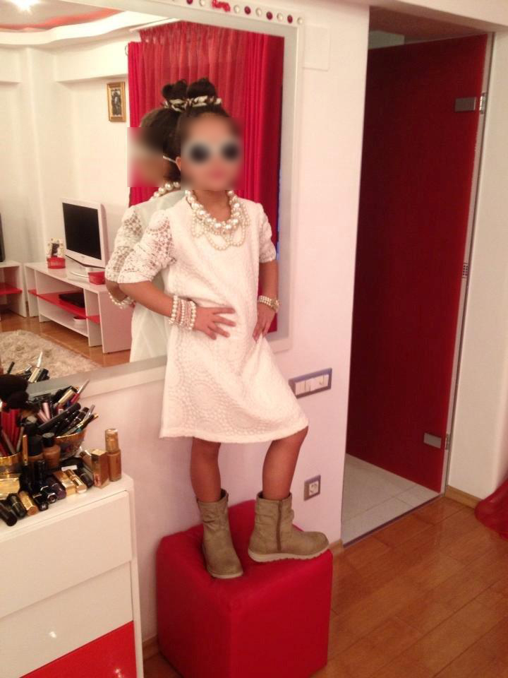 Fiica lui Roxy Rosescu ii