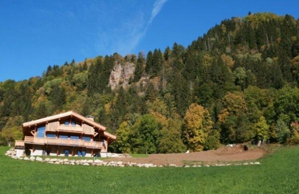 Cabana in Les Contamines, din Haute-Savoie, Franta