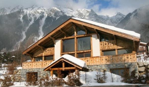 Cabana in Chamonix, Franta