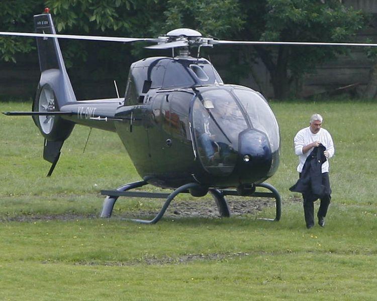 Milionarul a muri luni intr-un accident aviatic, in propriul elicopter