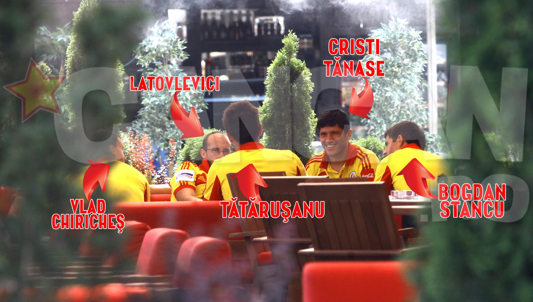 """Nucleul"" Stelei – Tanase, Latovlevici, Tatarusanu, Chiriches si Pintilii – l-a ""adoptat"" pe fostul golgheter al ros-albastrilor, Bogdan Stancu"