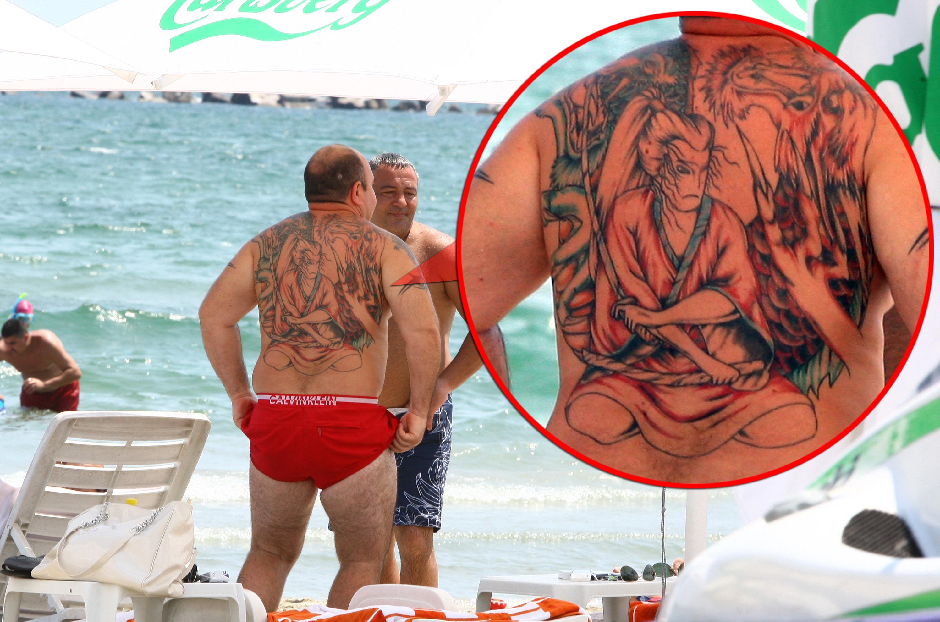 La tatuajul lui Nutu Camataru, Robert a lucrat trei zile cate sase ore pe zi