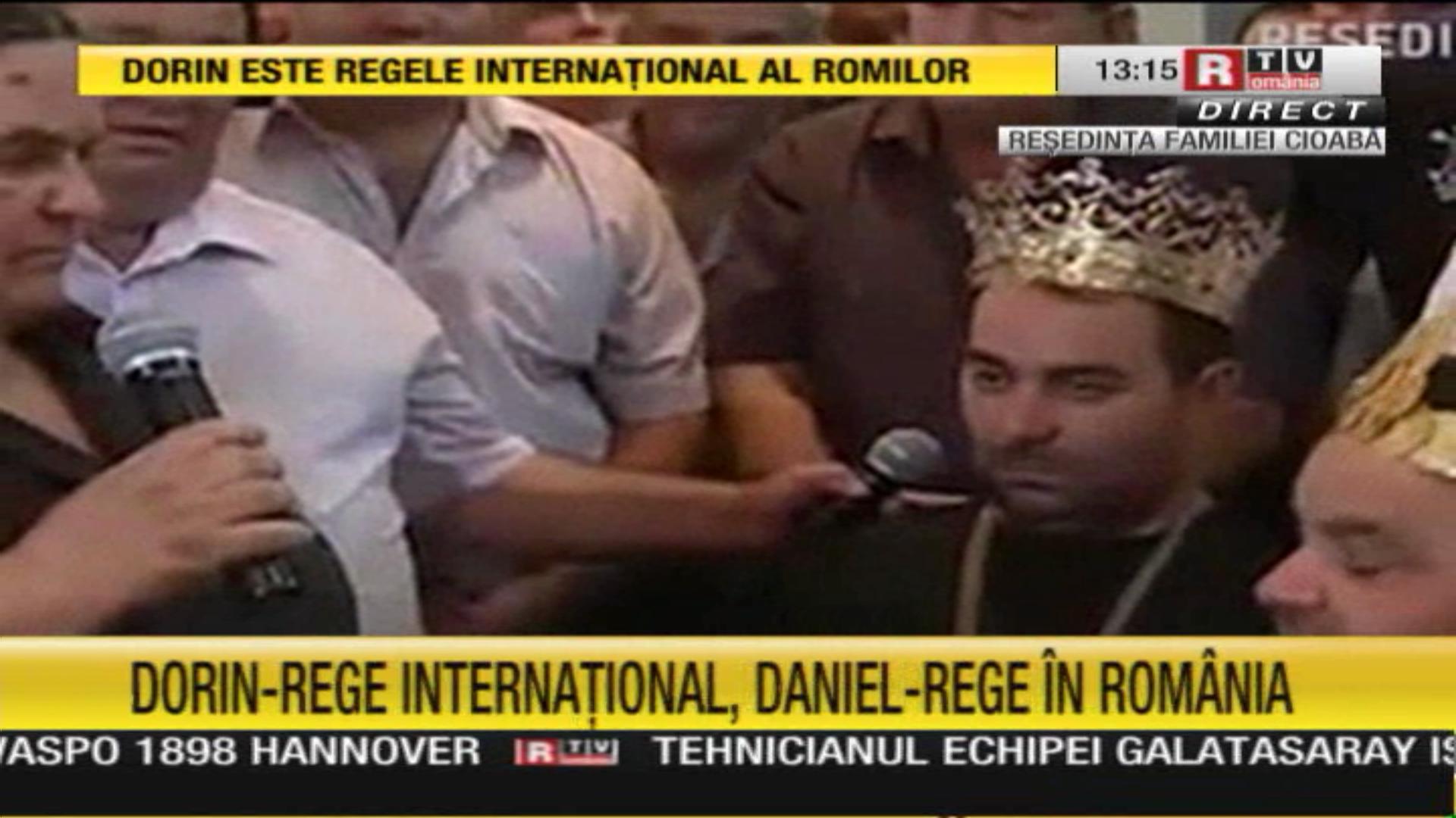 Daniel, baiatul cel mic al lui Florin Cioaba, va purta coroana tatalui sau