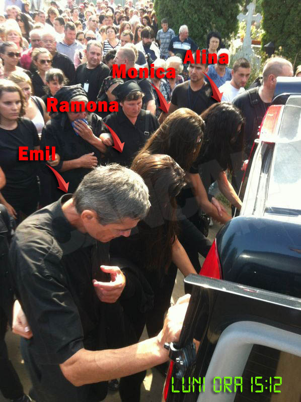 In convoiul funerar si-a facut aparitia si Emil Gabor, fostul sot al Veronicai Bulai