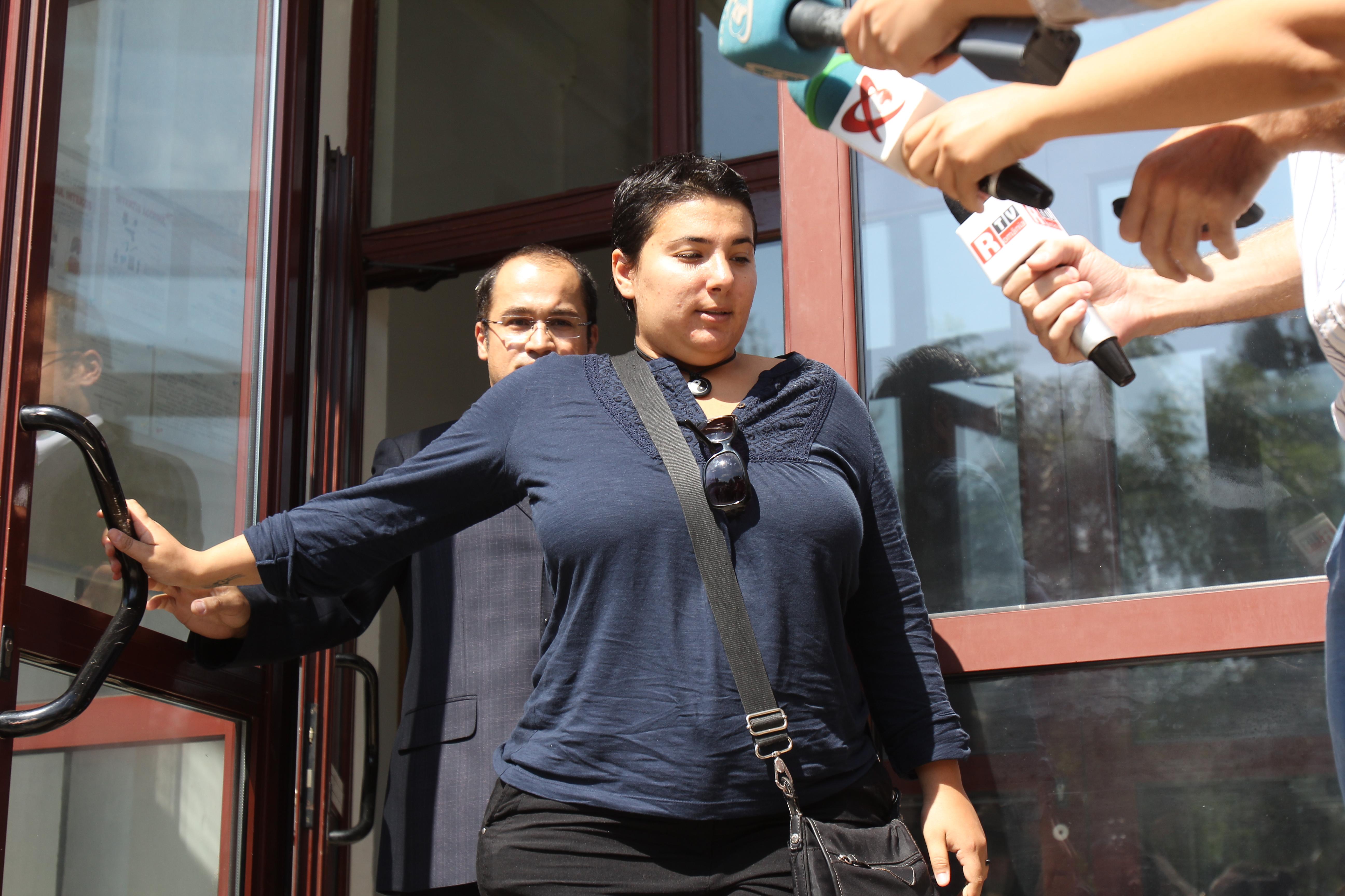 Lavinia Mirela Nica a parasit ingandurata biroul procurorilor