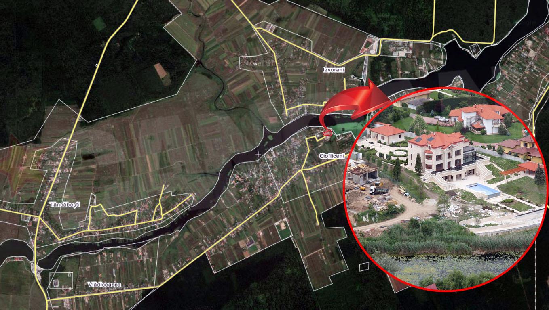 Procuroii au pus lacat pe palatul lui Videanu de la Snagov