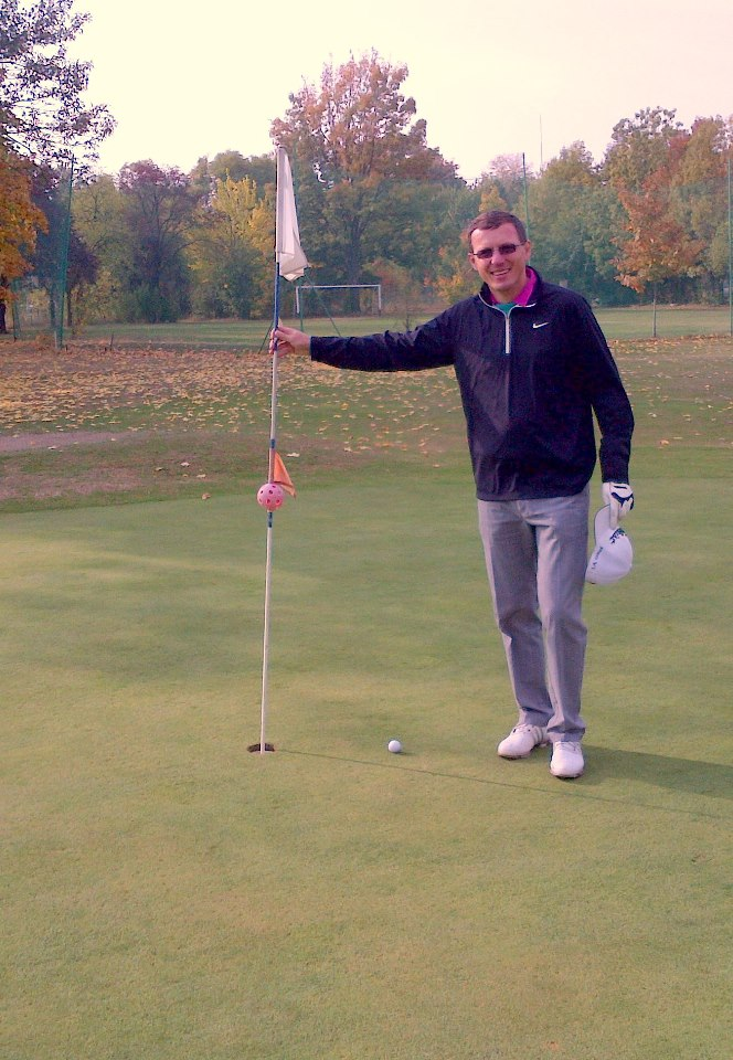 Dragos Tanase viseaza sa devina un excelent jucator de golf