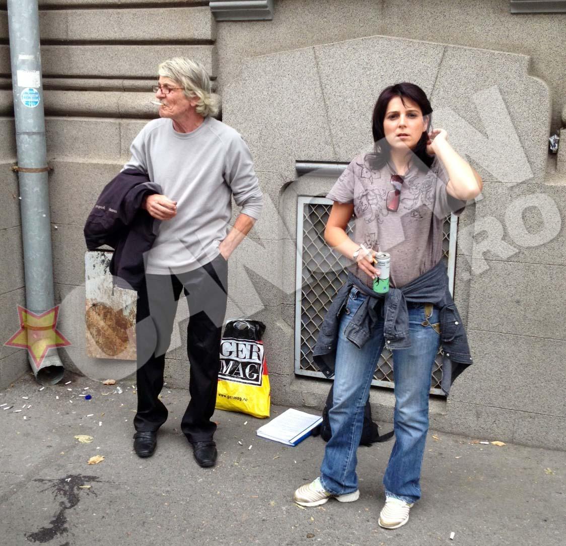 Tatal si sora lui Stefan, taximetristul ucis de Andronie