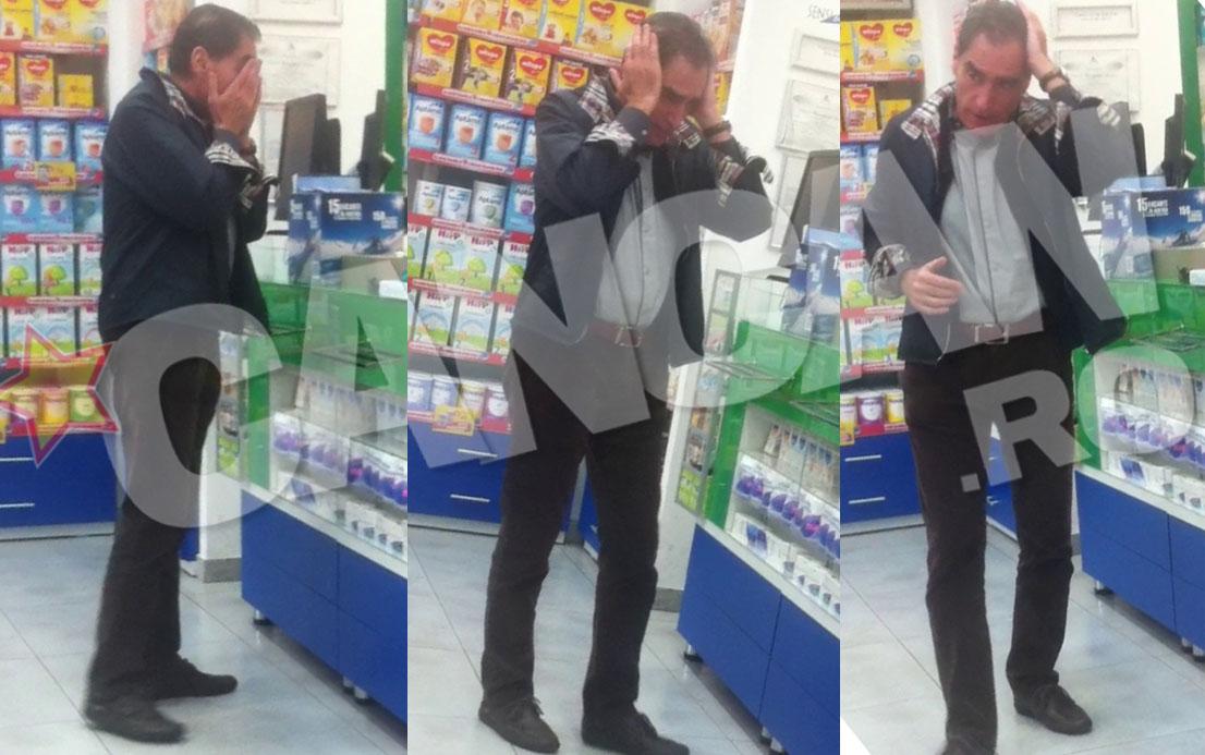 Petre Roman, extrem de agitat in farmacie
