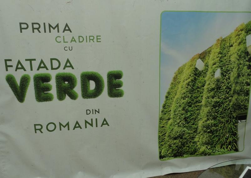Prima cladire din Romania cu fatade verzi