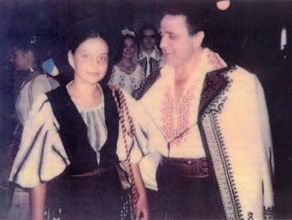 Ioana Cristureanu alaturi de tatal sau
