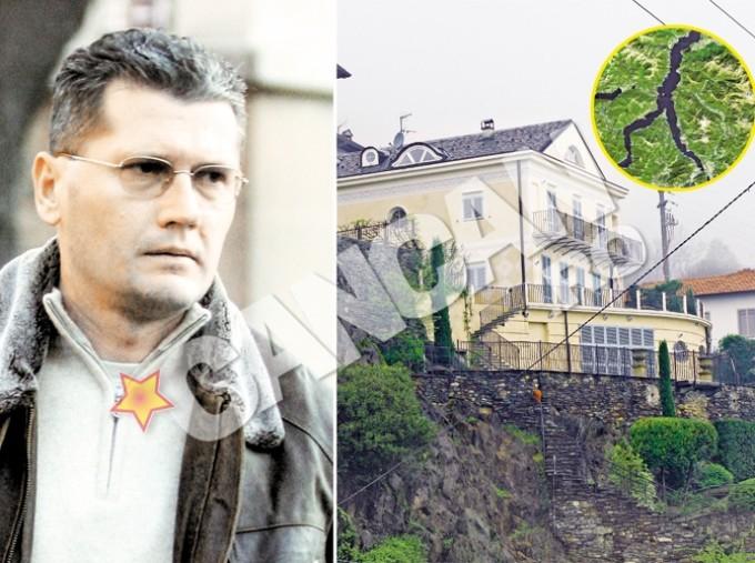 Cancan.ro a dezvaluit, in premiera, ca politicianul are in proprietate si un palat de 2.000.000 de euro, in statiunea Pianello del Lario din provincia Como, una dintre zonele exclusiviste din Italia