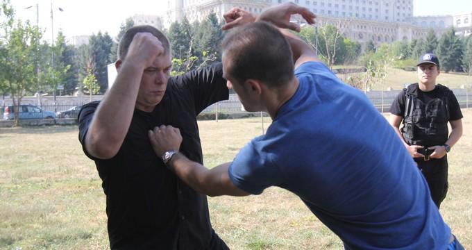 Toma Guta practica artele martiale de 28 de ani