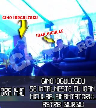 Cu cateva ore inainte de alegerile LPF, Gino Iorgulescu l-a cautat de urgenta pe Ioan Niculae