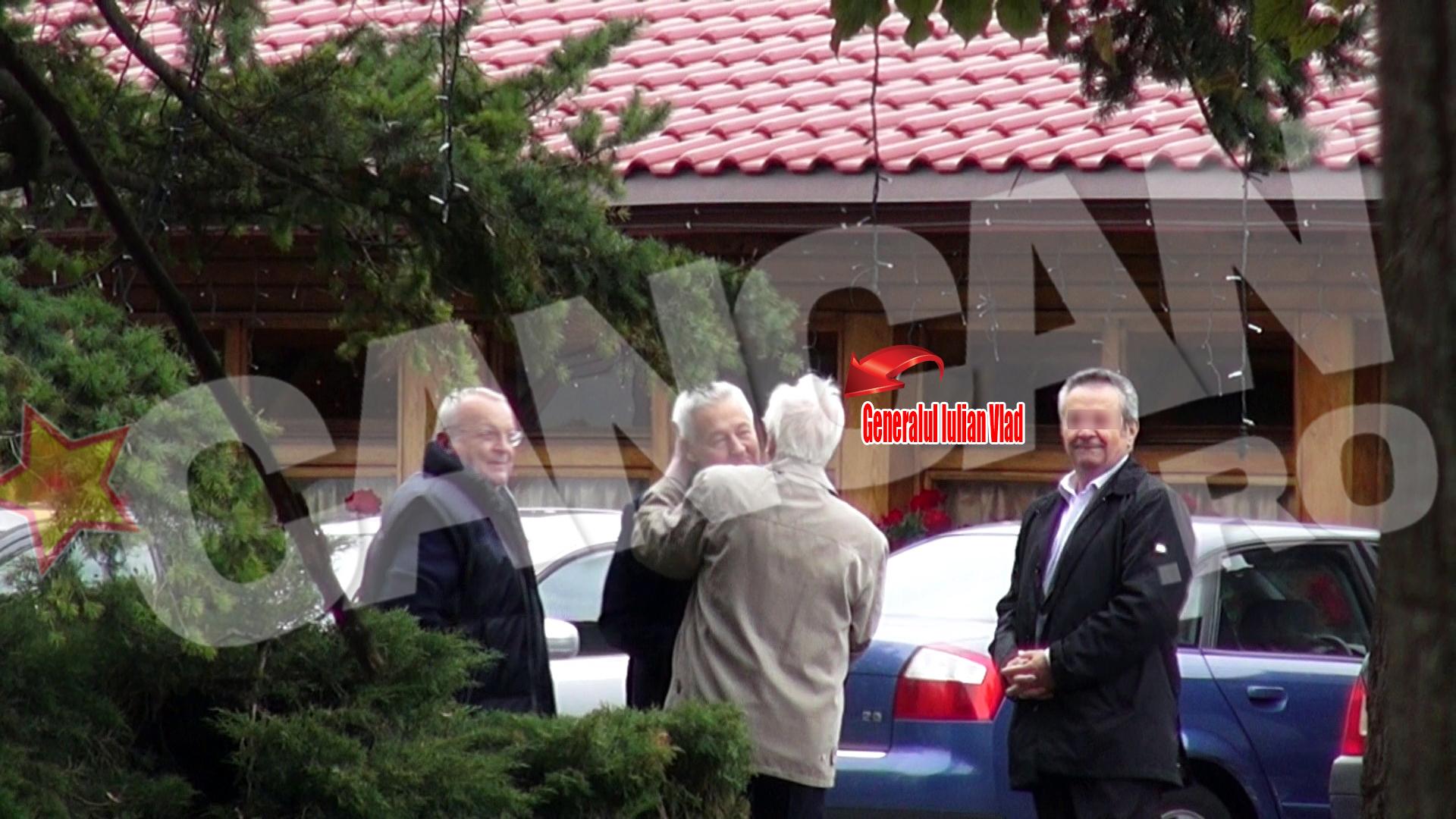 Pe Bebe Ionescu si pe generalul Iulian Vlad pare ca ii leaga o prietenie stransa