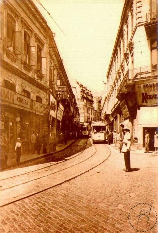 Centrul Istoric era pe vremuri brazdat de tramvaie electrice