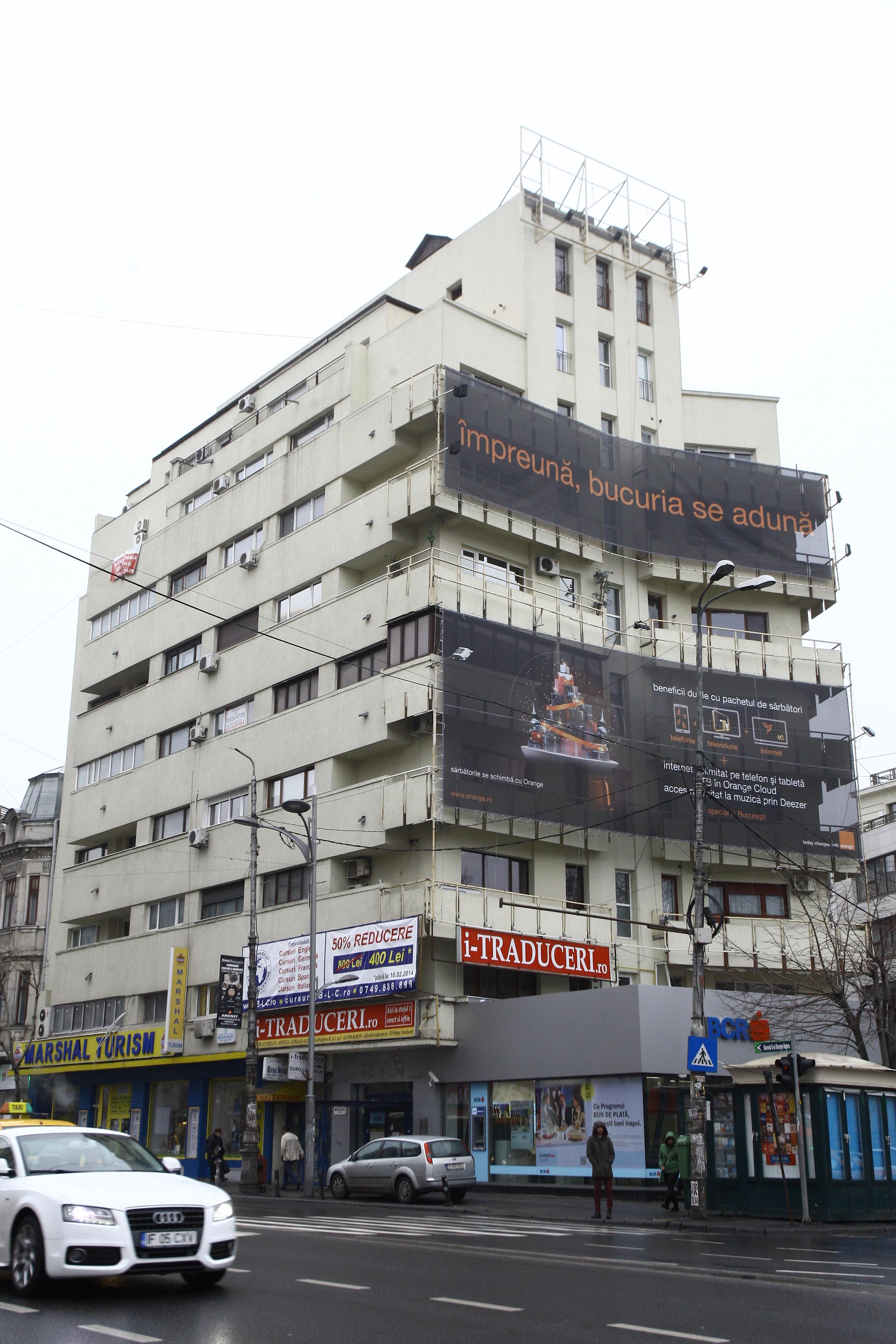 Din 2007, fostul deputat este proprietarul unui apartament intr-un bloc de pe Bulevardul Magheru