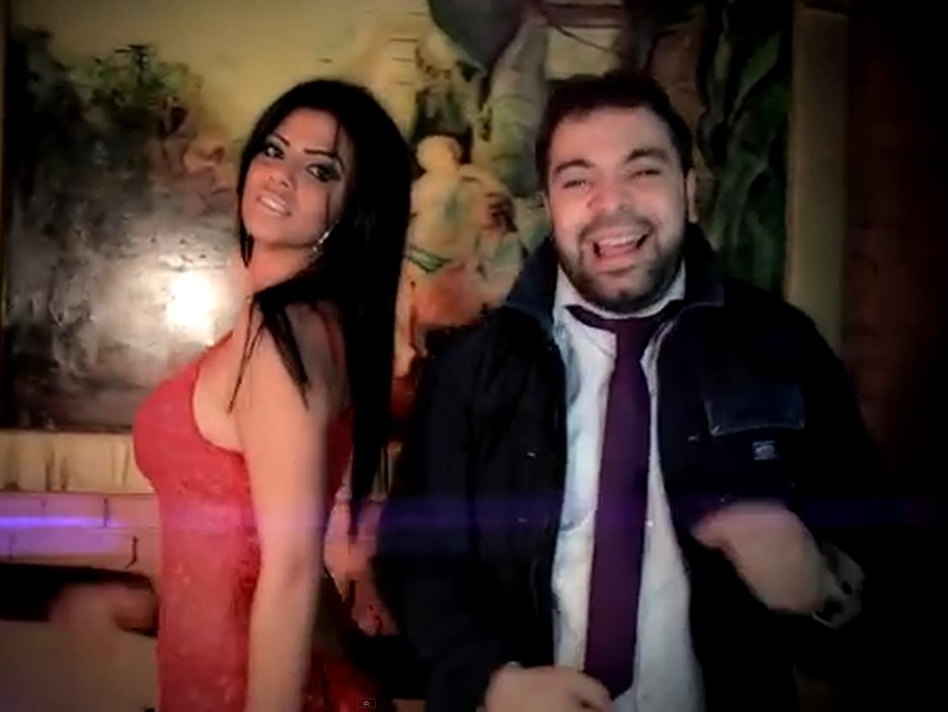 Claudia a aparut in videoclipul lui Florin Salam