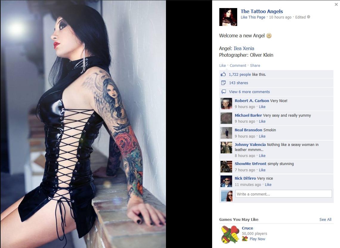 Fotografiile cu Xenia i-au incins pe mii de internauti