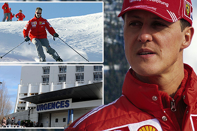 Michael Schumacher este in coma de mai mult de o luna de zile