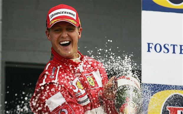 Michael Schumacher este internat intr-un spital din Grenoble