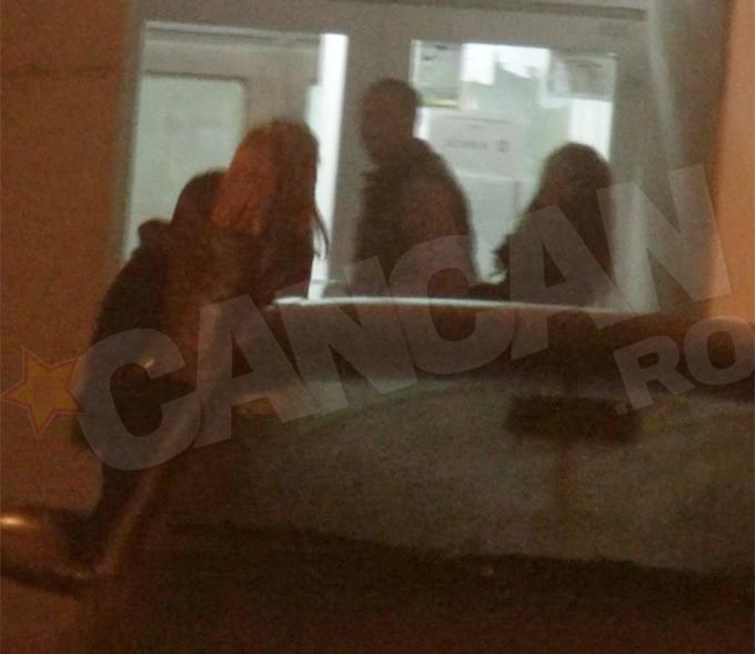 Dupa o noapte intr-un club de fite, Bostina a ingramadit 3 femei in scara de bloc. Una este sotia lui, Diana