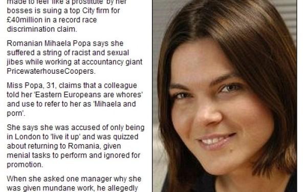 Mihaela Popa a dat in judecata Casa regala a Marii Britanii