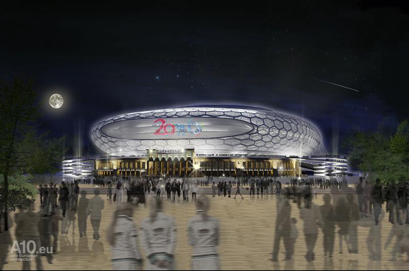 Asa va arata Arena Park la finalizarea lucrarilor