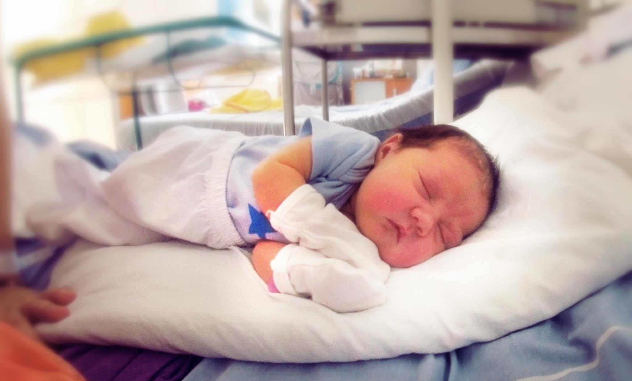 Natalia Rada este primul copil al lui Bogdan Negroiu