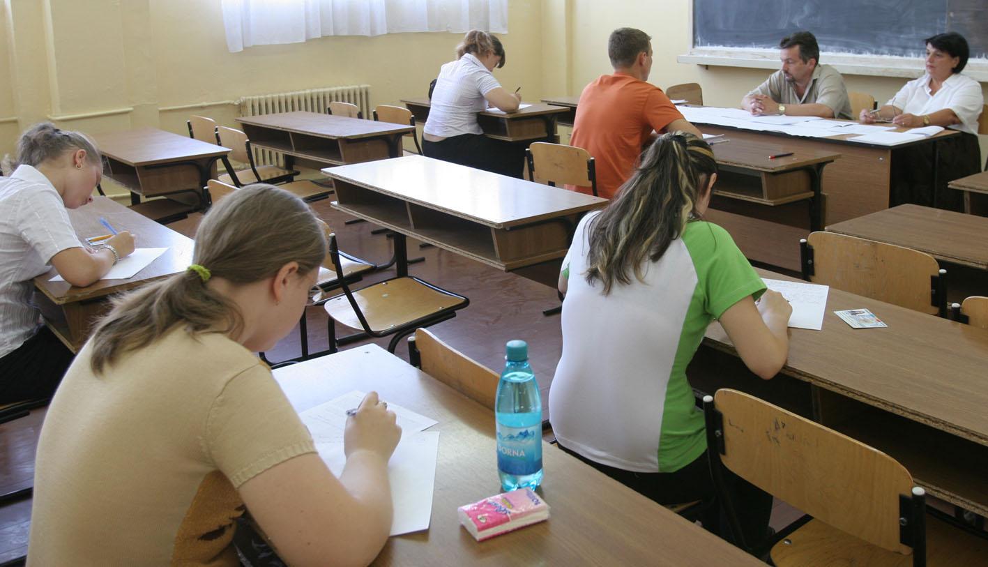 Elevii care nu iau examenul din vara il pot repeta in sesiunea speciala din august foto: Informatia Teleormanului