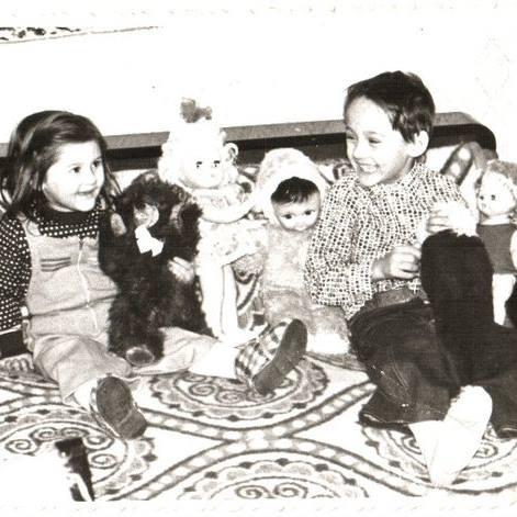 Oana Vincu, in copilarie